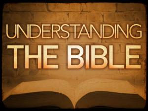 understanding the bible_t